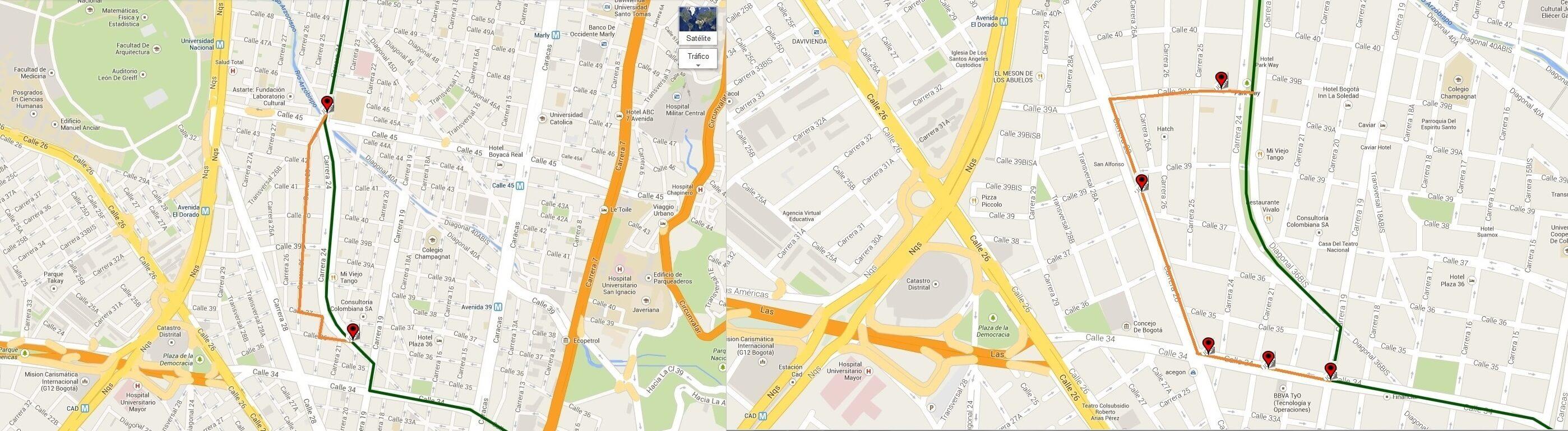 Ruta SITP: C41 Quirigua ↔ Teusaquillo [Urbana] 4