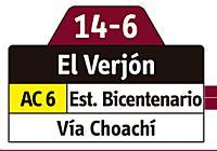Inicia la nueva ruta ESPECIAL - 14-6 El Verjón 1