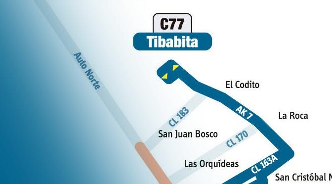 Ruta C77 ya circula completa 1