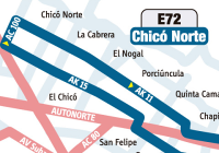 E72 - nueva ruta urbana del SITP 1