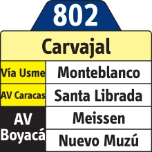 802 Destino Carvajal Rutero