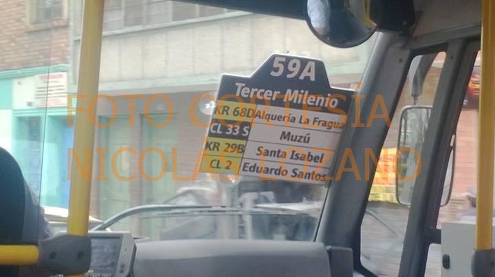 Foto cortesía de: Nicolás Lozano. http://twitter.com/NikolasLoz96