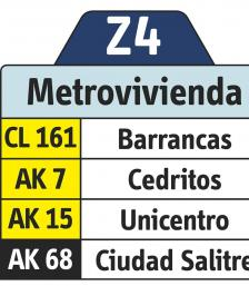 Rutero Z4 Metrovivienda