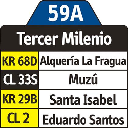Rutero 59A - Tercer Milenio