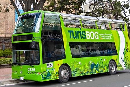Buses turísticos Bogotá