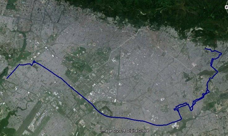 Mapa tentativo urbana 540