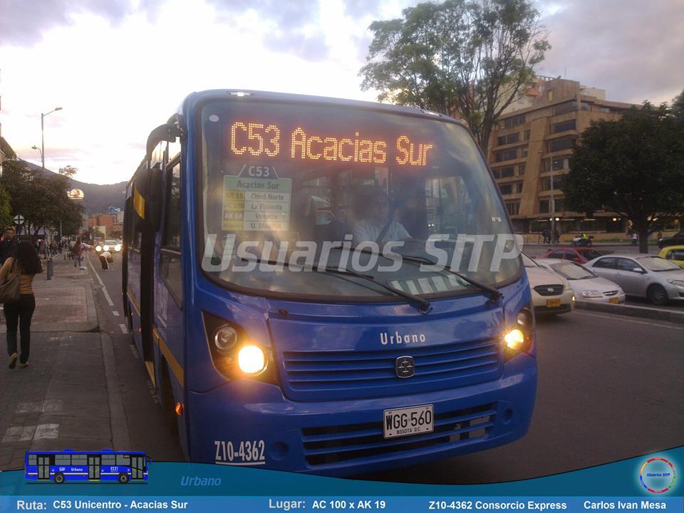 Ruta Urbana C53