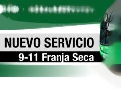 Mañana inicia a operar la ruta ALIMENTADORA - 9-11 Franja Seca (oficialmente)