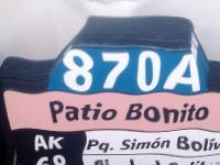 Nueva ruta urbana 870A Patio Bonito - La Floresta