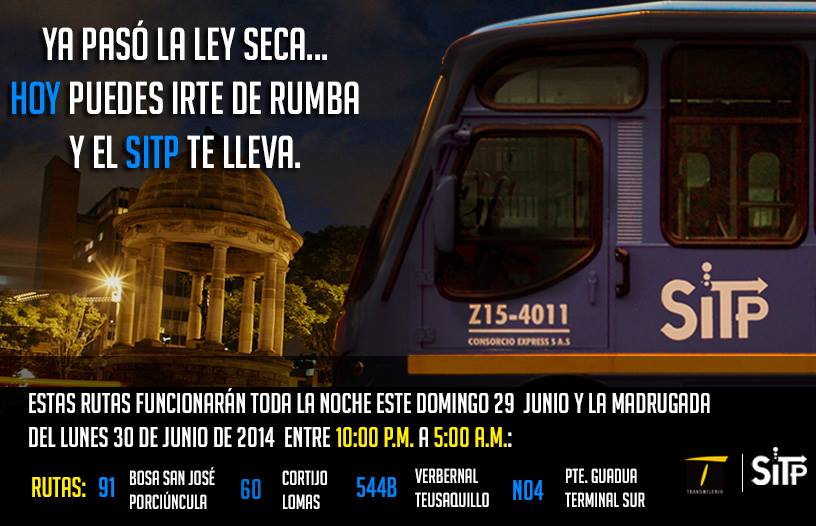 rutas_horario_extendido_SITP_sólo_29_junio_2014
