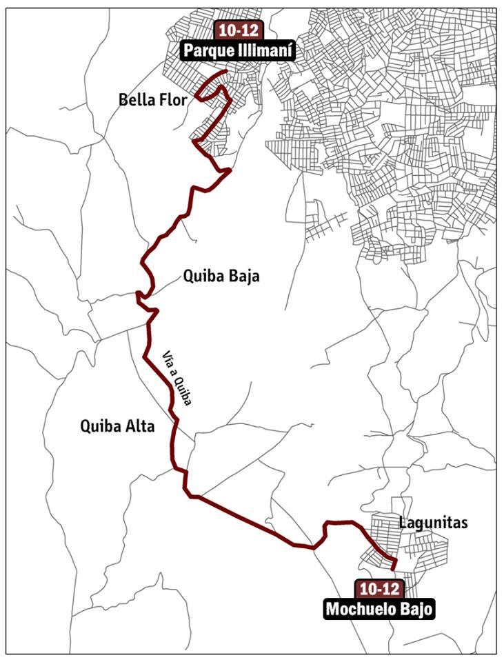 Mapa ruta ESPECIAL 10-12