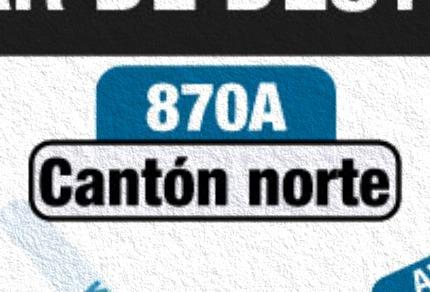 Anuncian urbana 870A Cantón Norte - Patio Bonito oficialmente
