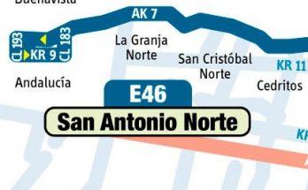 Anuncian urbana E46 Metrovivienda - San Antonio Norte oficialmente