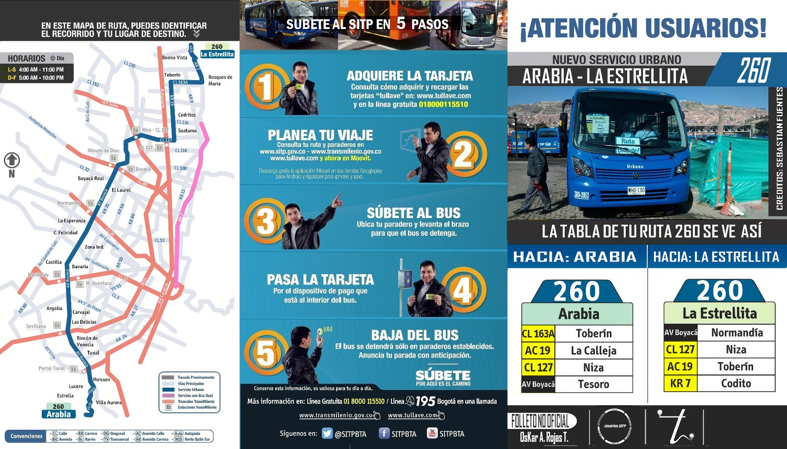 nueva_ruta_260_mapa_folleto_extraoficial_Oskar_Torres