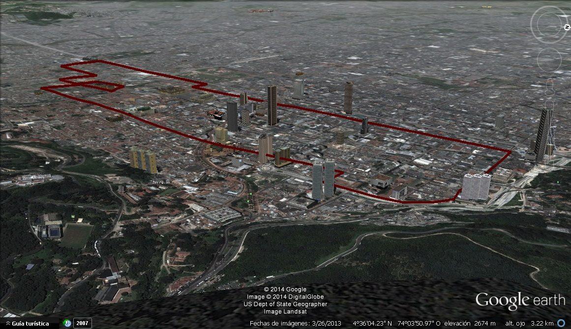 Antigua ruta 14-5 del SITP desparecida