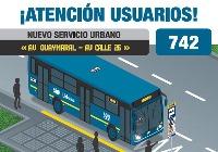 Anunciada la urbana 742 (vía fanpage oficial)