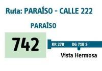 Urbana 742 extiende recorrido
