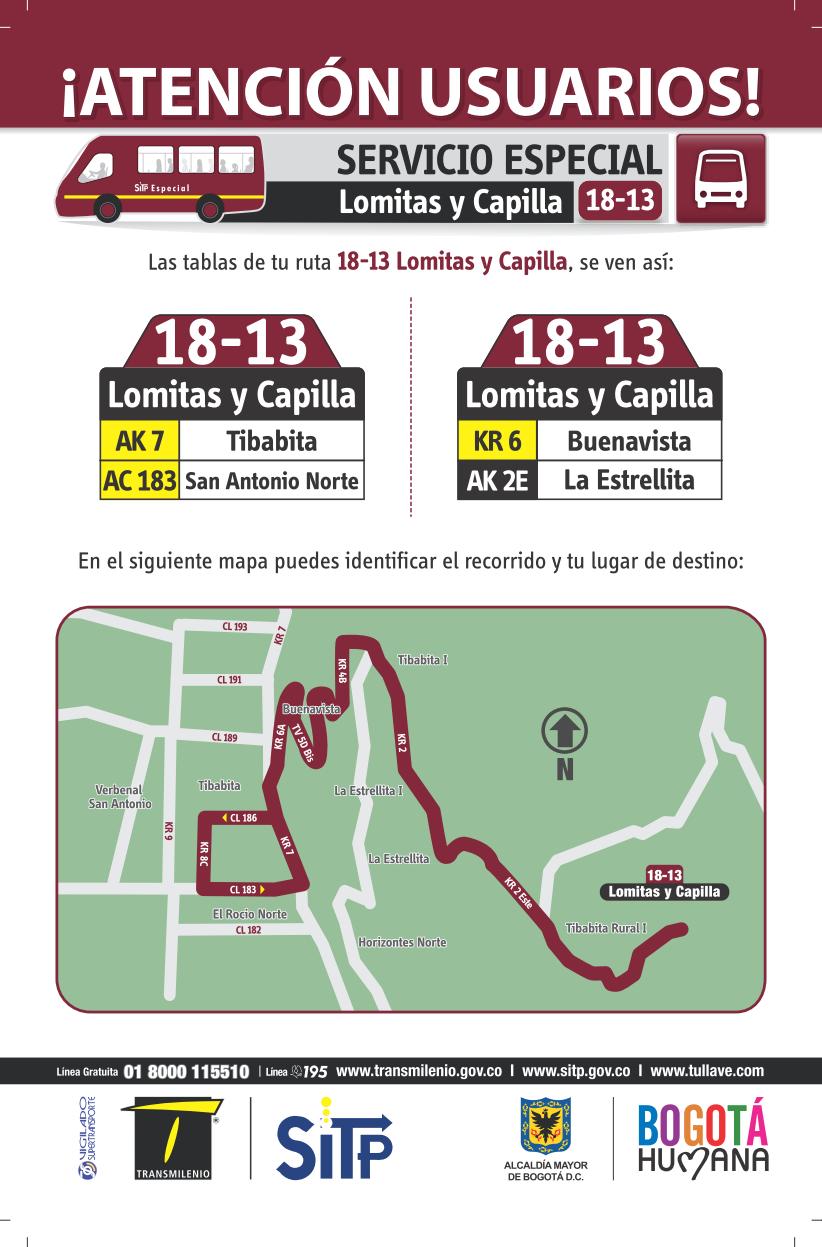 18-13 mapa ruta especial - SITP