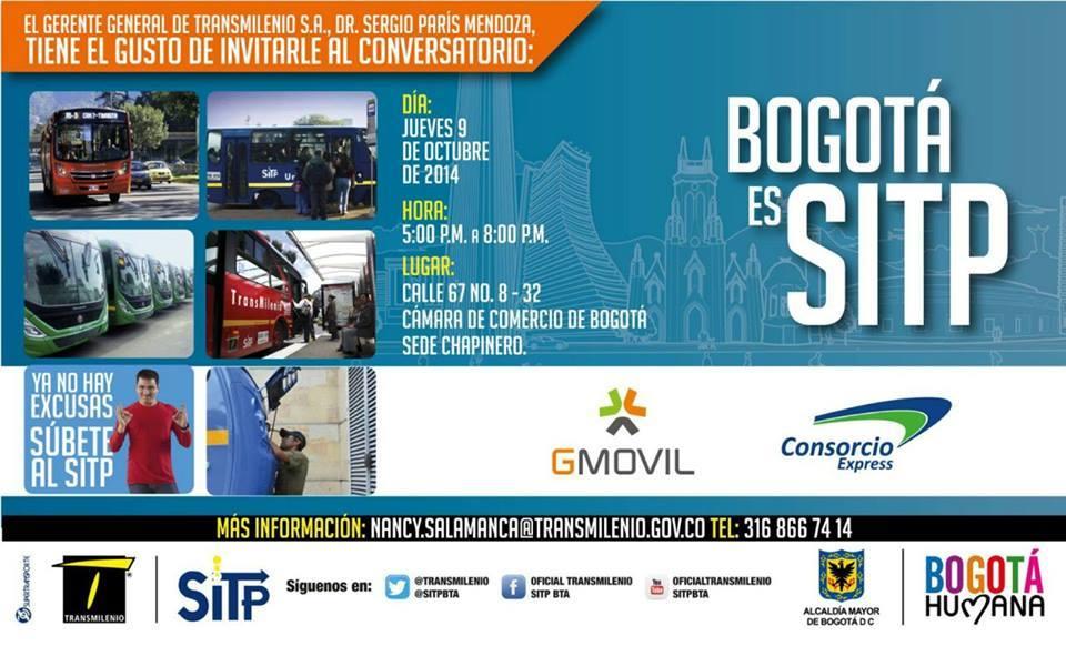 Conversatorio (foro), SITP - 9 octubre 2014