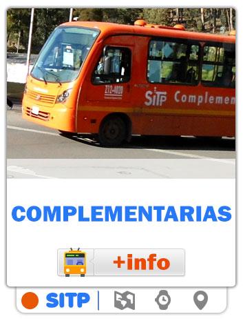 Consultar Mapas de las rutas Complementarias de Bogotá - SITP