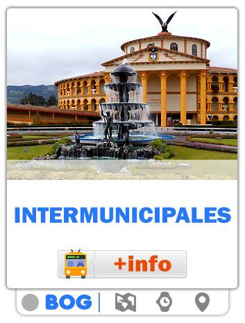 Consultar Mapas de las rutas Intermunicipales / Bogotá