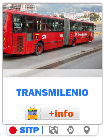 Consultar Mapas de las rutas Transmilenio de Bogotá - SITP