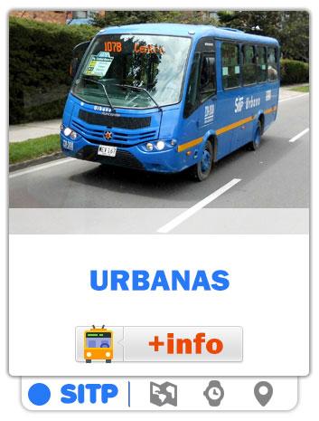 Consultar Mapas de las rutas Urbanas de Bogotá - SITP