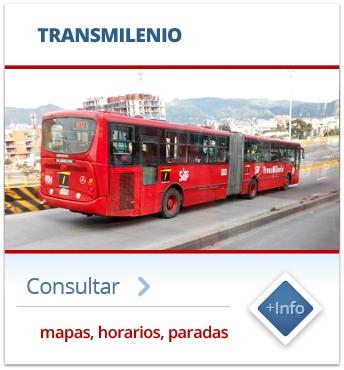 SITP Transmilenio - mapas, horarios, paraderos