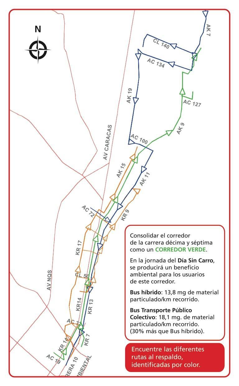 5 de febrero día sin Carro en Bogotá ¿ya sabes qué ruta SITP abordar? 4
