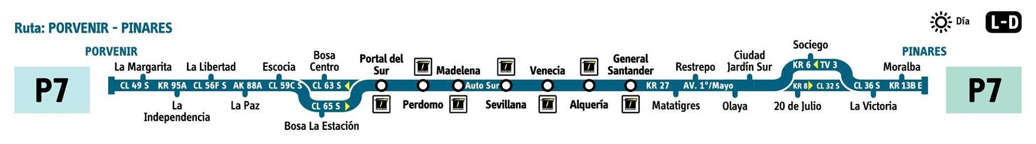 Urbana P7 amplia su recorrido hasta la zona de Pinares 4