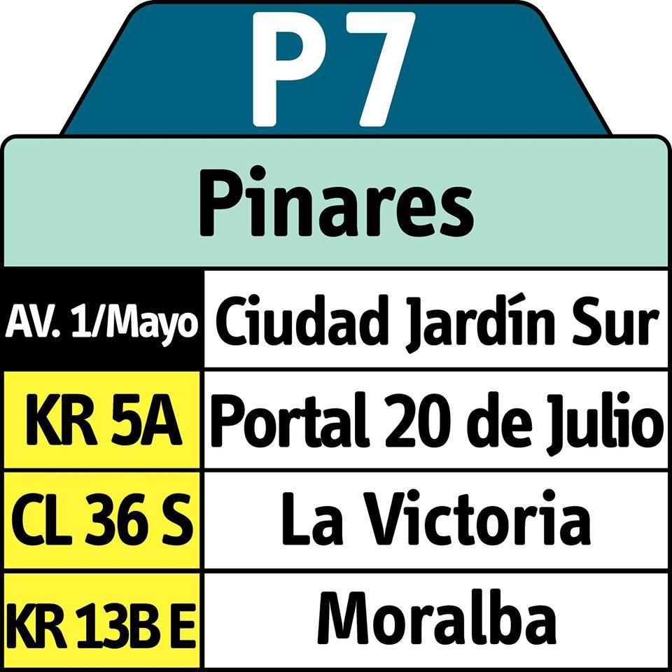 Urbana P7 amplia su recorrido hasta la zona de Pinares 1