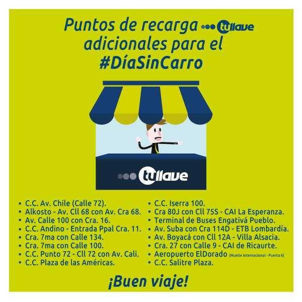 5 de febrero día sin Carro en Bogotá ¿ya sabes qué ruta SITP abordar? 1