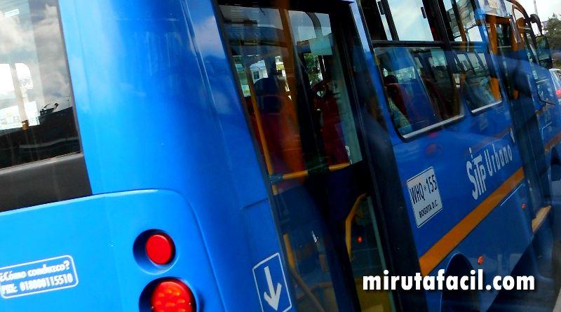 La ruta urbana 661 sufrió un ligero cambio en su recorrido 1