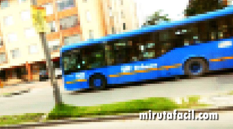 Inició a operar la ruta urbana T26 (extraoficial) 1