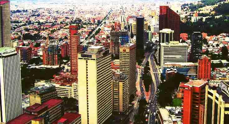 Ciudad de Bogotá, panorámica