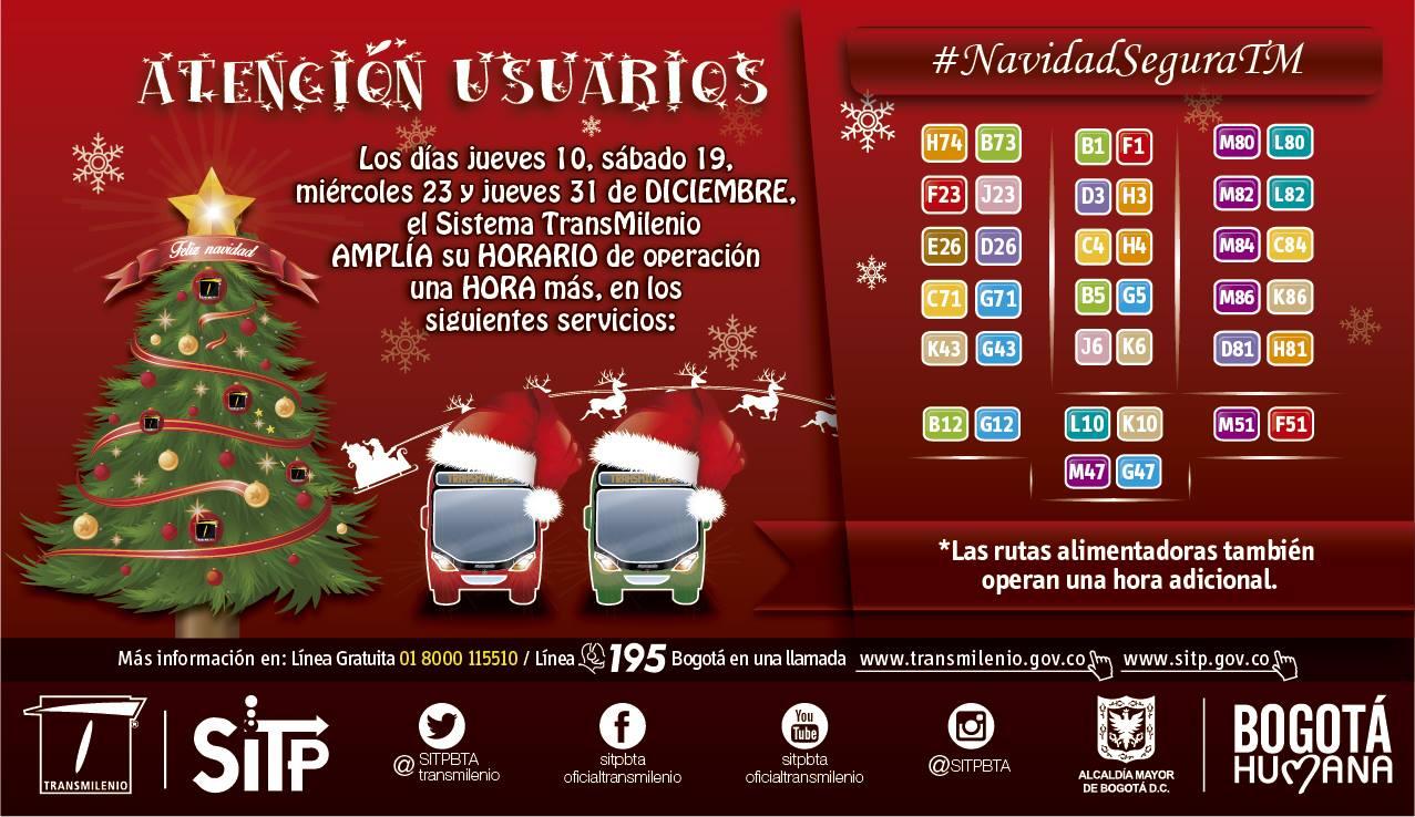 Ciclovía nocturna próximo jueves de diciembre - 2015 3