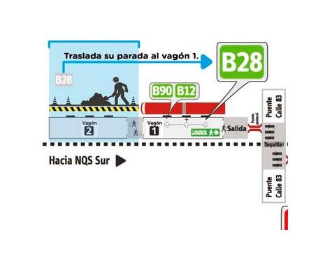 Estación La Castellana en obras, ojo usuarios de Transmilenio 1