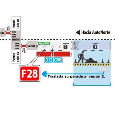 Vagón sur de la Estación Castellana cerrado a fin de mes 1
