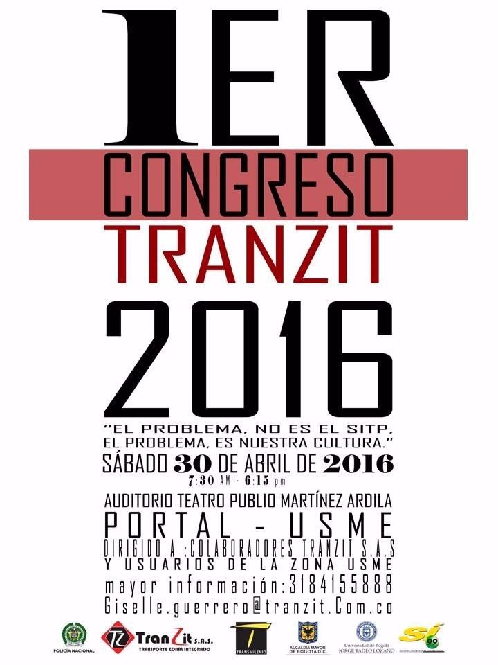 1er Congreso Tranzit - 2016, mañana sábado ¡participa!