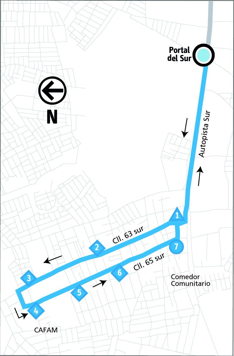 Ruta SITP: 10-2 ➜ Bosa Centro [Alimentador]