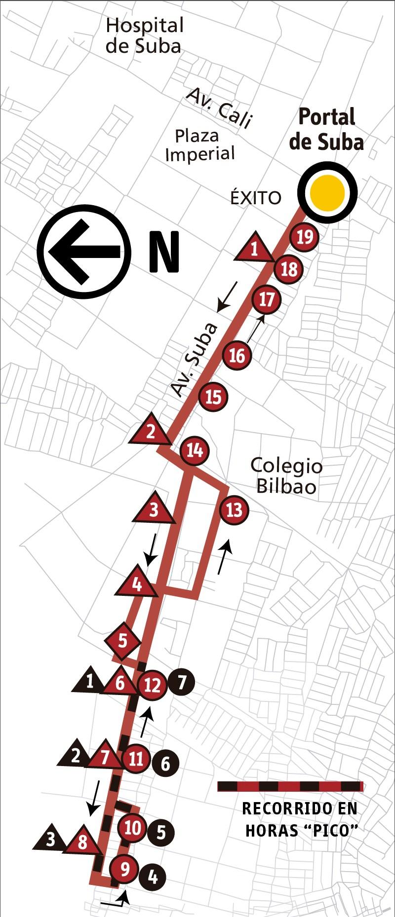 Ruta SITP: 11-10 Bilbao [Alimentador]