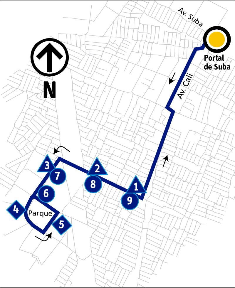 Ruta SITP: 11-3 Villamaría [Alimentador]