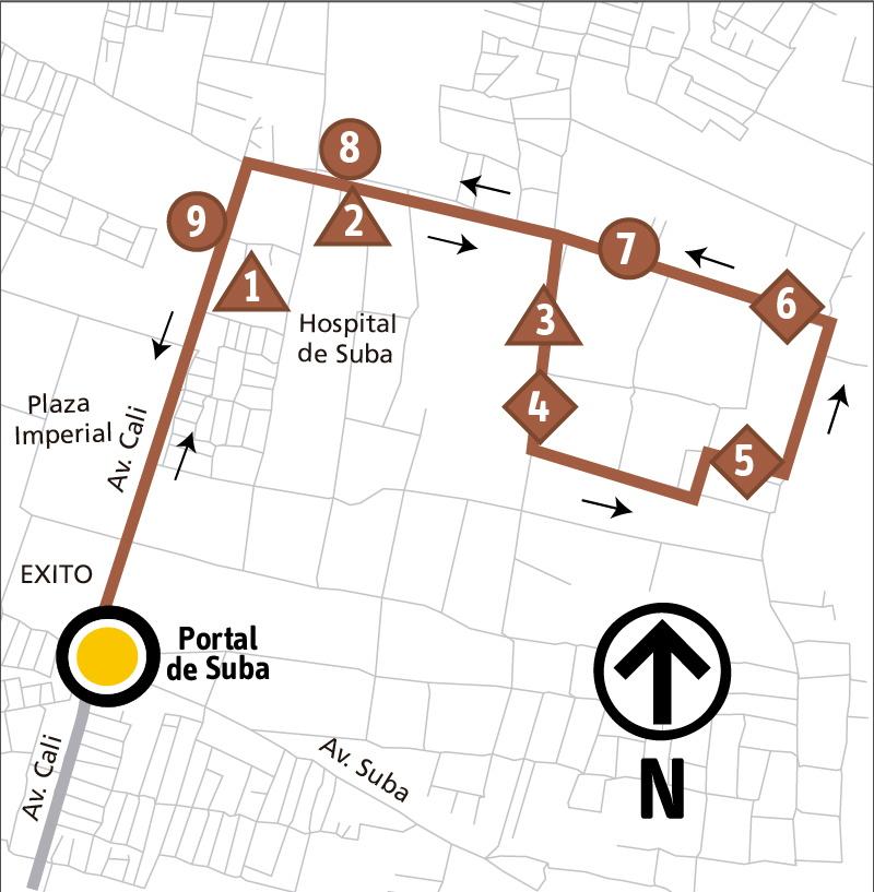 Ruta SITP: 11-7 Pinar [Alimentador]