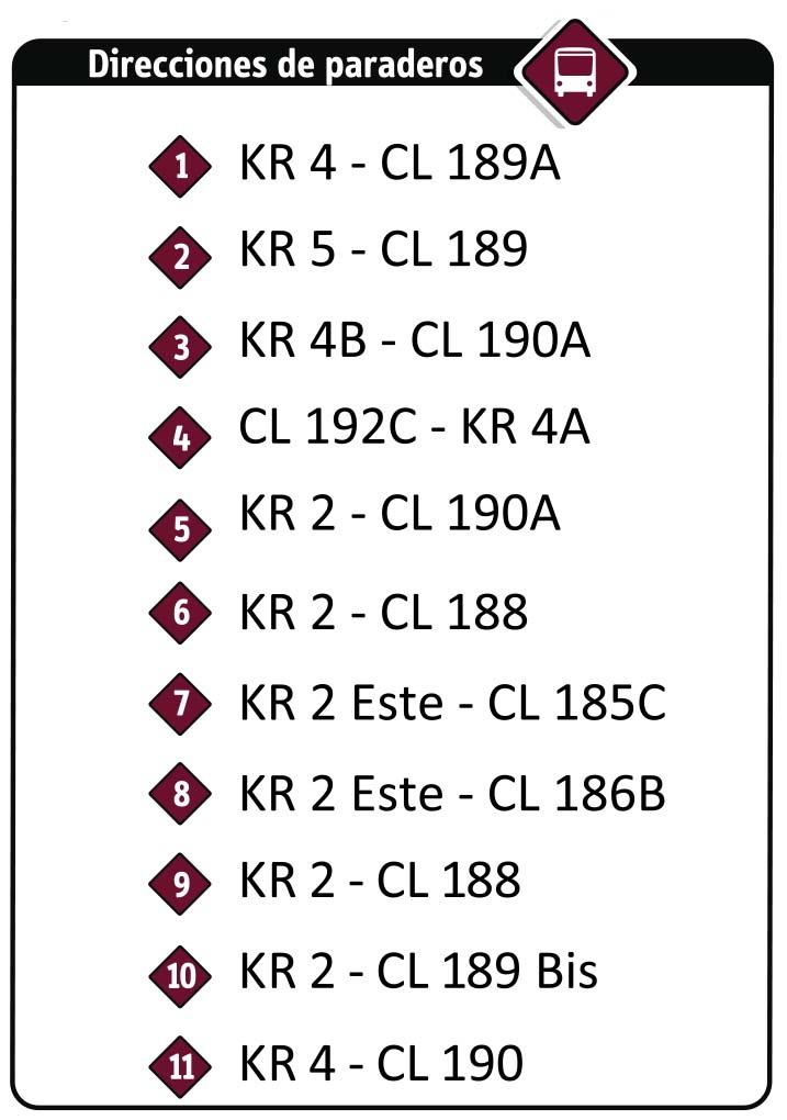 Ruta SITP: 18-6 Serrezuela [Especial] 2