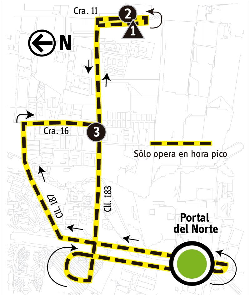 Ruta SITP: 2-11 Andalucía [Alimentador]