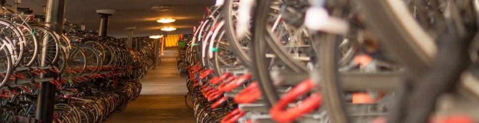 Cicloparqueaderos - dónde dejar la bici