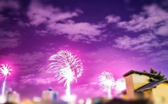 Día de la Independencia - fuegos artificiales