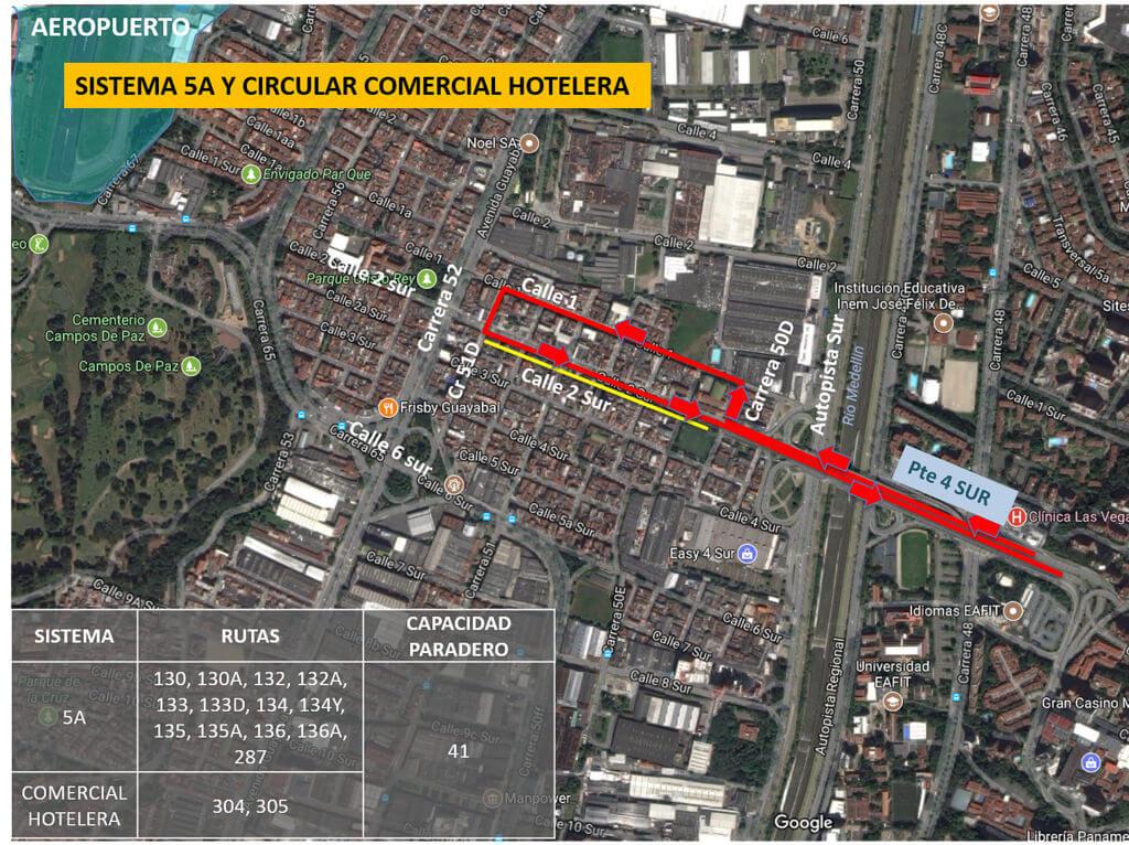 Cambios en rutas de bus Medellín por visita del Papa Francisco (1)