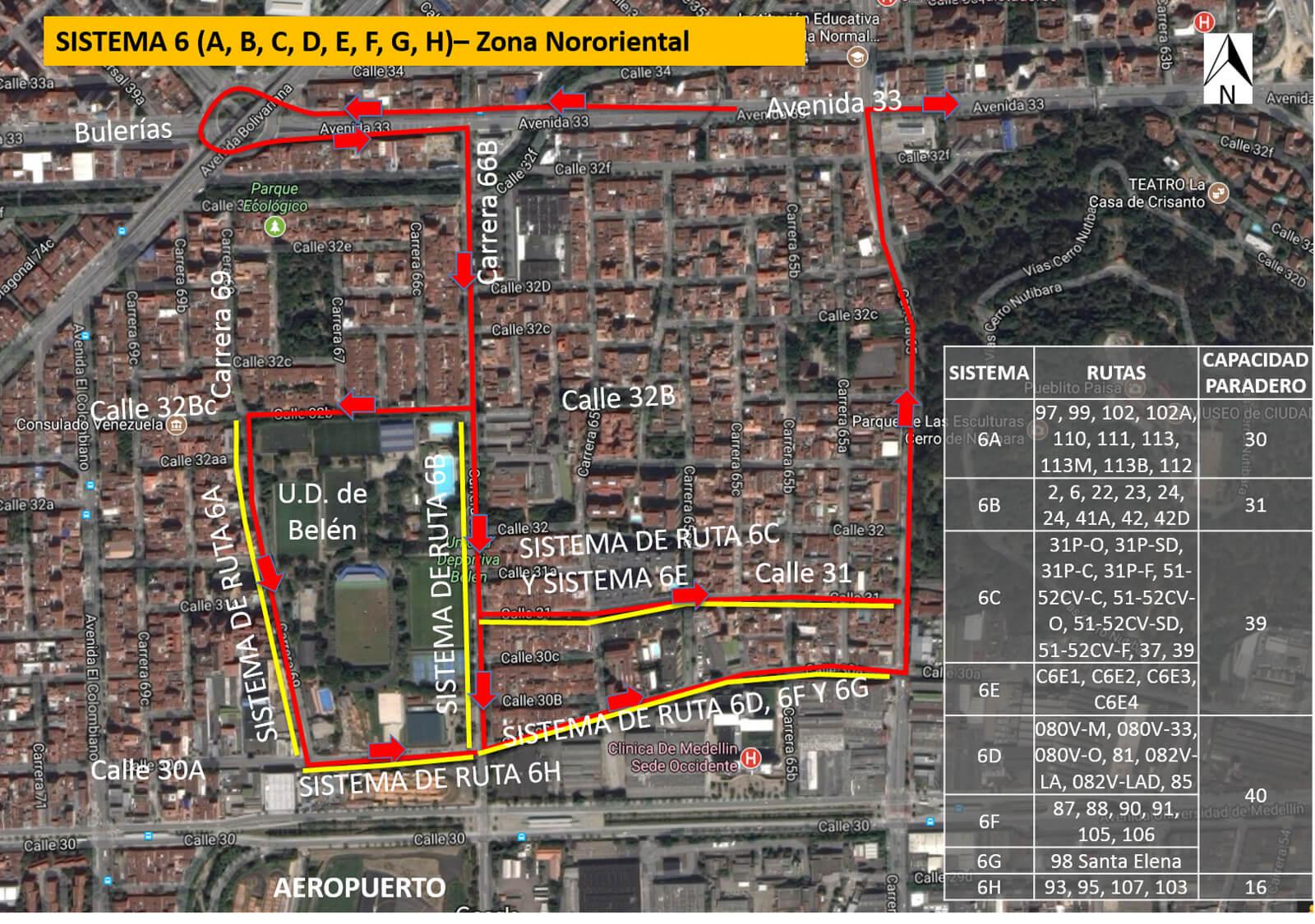 Cambios en rutas de bus Medellín por visita del Papa Francisco (2)