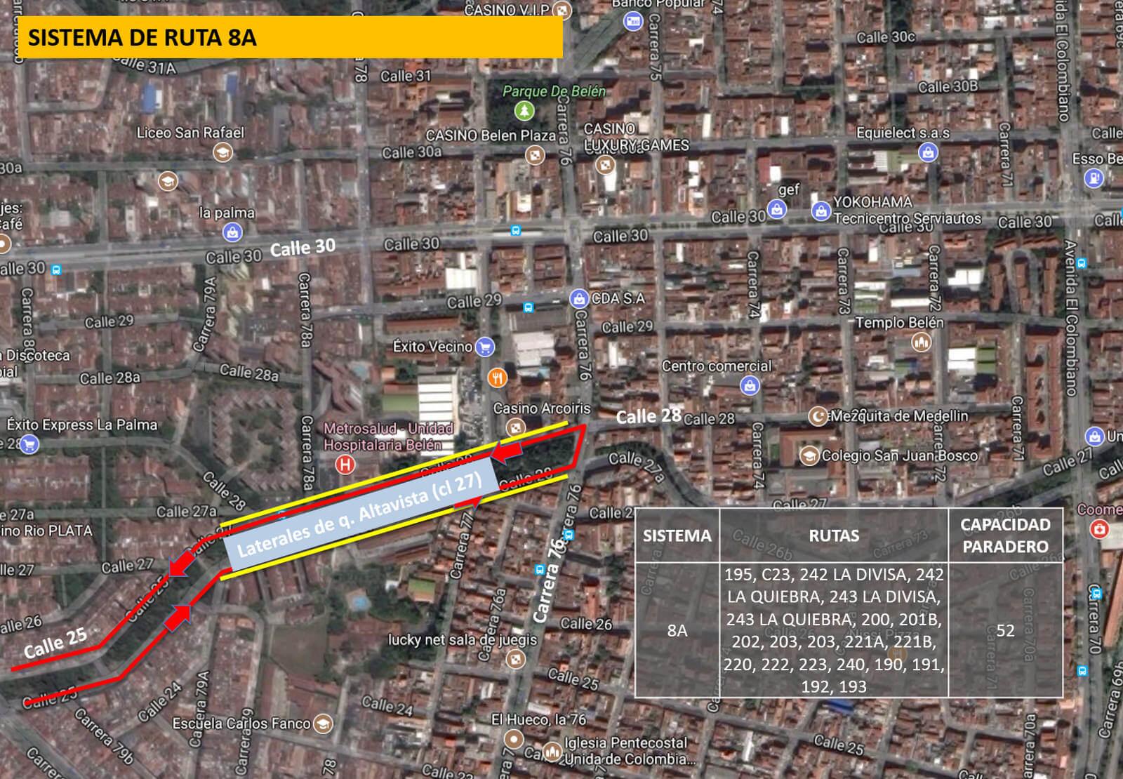 Cambios en rutas de bus Medellín por visita del Papa Francisco (4)